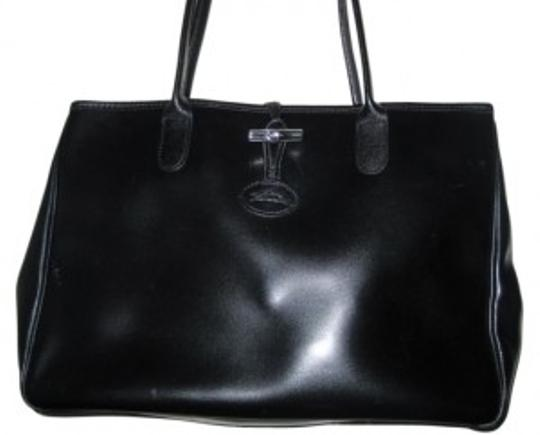 Preload https://item1.tradesy.com/images/longchamp-classic-roseau-black-leather-tote-11500-0-0.jpg?width=440&height=440