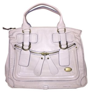 Chloé Satchel in creme