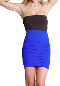 Nikibiki Seamless Tiered Skirt Royal Blue
