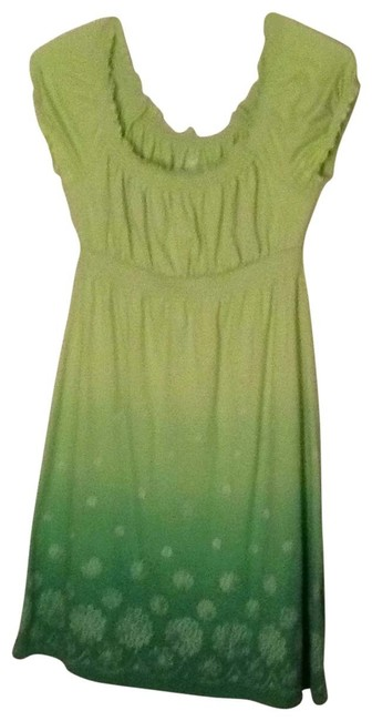 Wear Ever short dress green on Tradesy