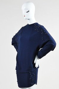 Jay Ahr short dress Blue Navy Beaded Drop on Tradesy