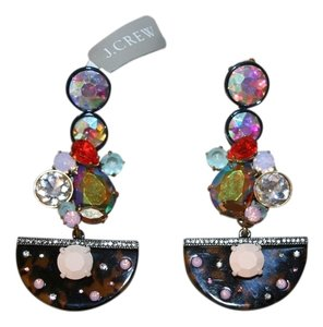 J.Crew J.CREW CRYSTAL TORTOISE CHANDELIER EARRINGS