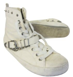 Sam Edelman white Athletic