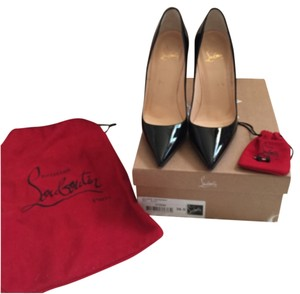 Christian Louboutin So Kate Lady Peep Red Bottoms Louboutins Black Pumps