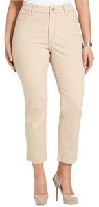 NYDJ Plus Size Not Your Daughters Jeans Crop Cropped Stretch Pants