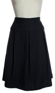 Max Mara Textured Skirt Black