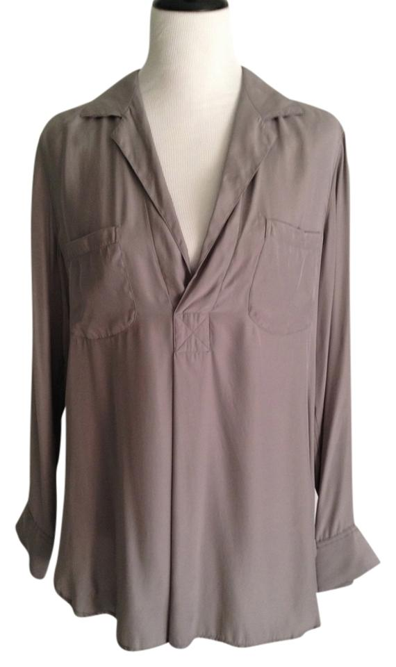02d0a6ead0b87 Vince Taupe Tunic Size 12 (L) - Tradesy