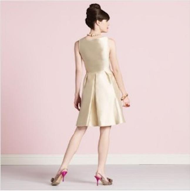 Kate Spade Wedding Belles Dabney Silk Rosette Dress