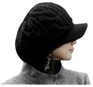 Women Slouchy Knit Beanie Newsboy Hat