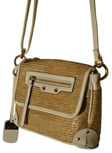 Jessica Simpson Trendy Basketweave Cross Body Bag