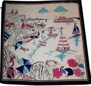Other Beach Scene Italian Scarf