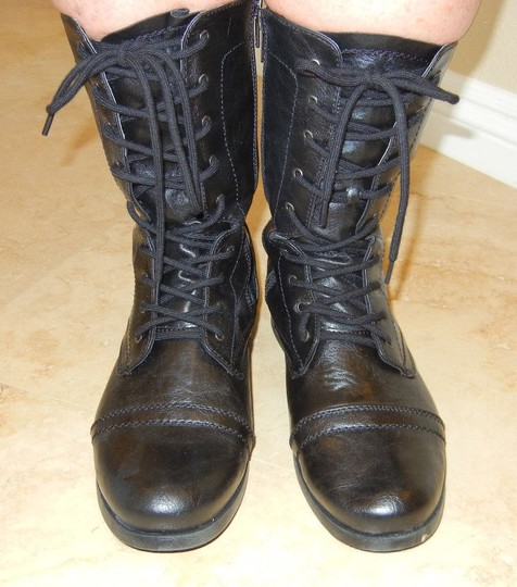 Charlotte Russe Cruelty-free Black Boots