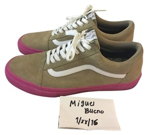 Vans Golf Wang Size 12 Odd Future Wheat, Pink, White Athletic
