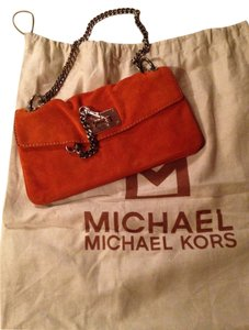 Michael Kors Orange Clutch