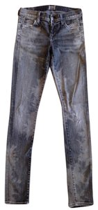 Citizens of Humanity Acid Wash Skinny Jeans-Acid