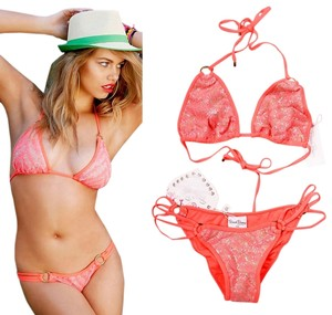 f545b0274b62c Women s Red Beach Bunny Swimwear - Up to 70% off at Tradesy