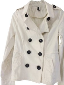 H&M Trench Style Off-White Blazer