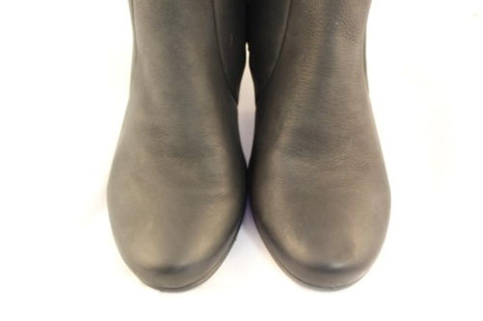 f36a9303770 Ecco Womens Black Knee High Boots Leather Shoes - Tradesy