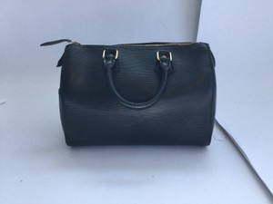 Louis Vuitton Speedy Epi Satchel in Noir