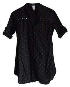 Abbey Dawn by Avril Lavigne Star Print Stars Studs Tunic