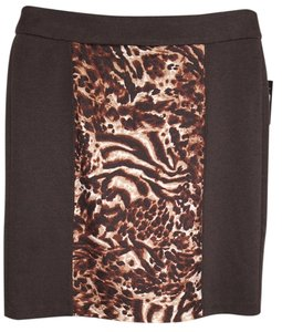 Skirt Brown/White