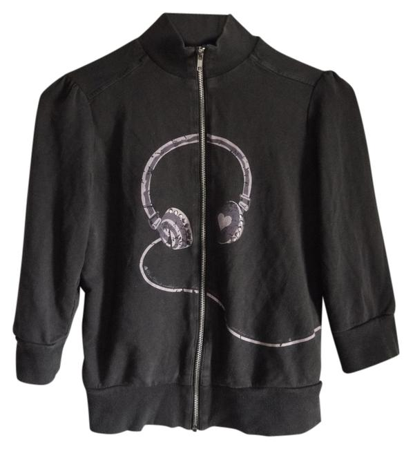 Forever 21 Jacket Cozy Headphones Graphic Casual Sweatshirt