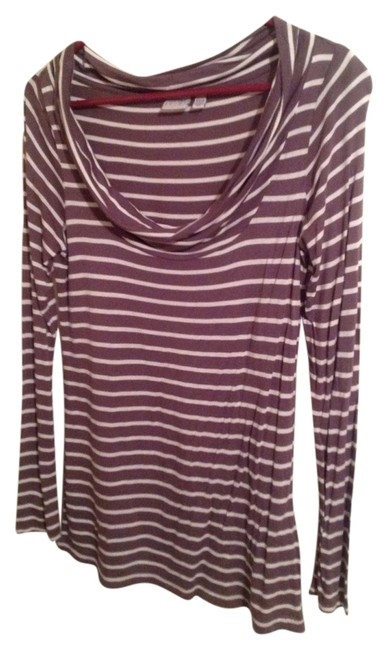 Esprit Top Brown/White Stripes