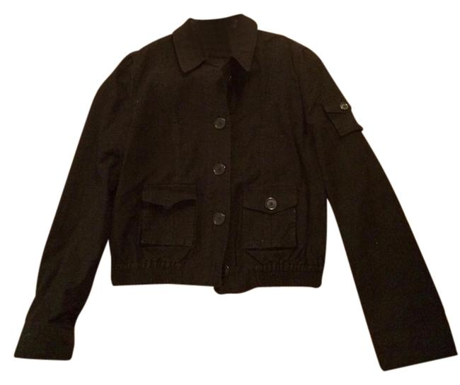 Marc Jacobs Bomber Corduroy Black Jacket