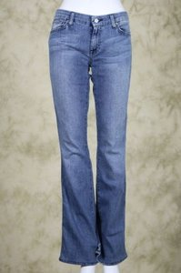 7 For All Mankind Womens Cotton Pants Trouser/Wide Leg Jeans