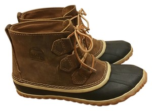 Sorel Tan Leather Boots
