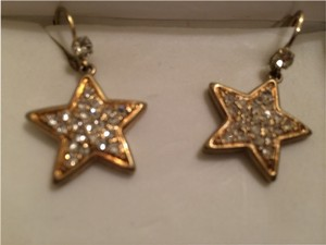 Betsey Johnson Betsey Johnson Lucite Star Drop Earring