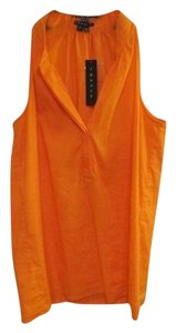 Theory Hidden Buttons Top Orange