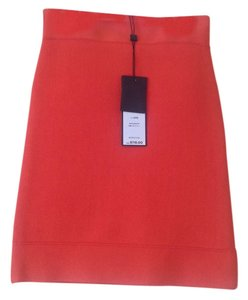 BCBGMAXAZRIA Mini Skirt ORANGE