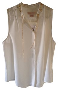 Michael Kors Cream Halter Top