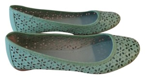 Mixit Cut-out Green Mint Flats