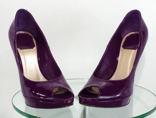 Dior Patent Leather purple Pumps