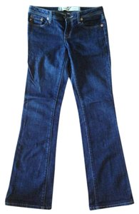 7 For All Mankind Flare Pants Dark blue