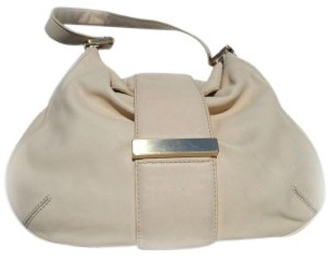 Item - Wilshire With Dust Cover Ivory Leather Hobo Bag