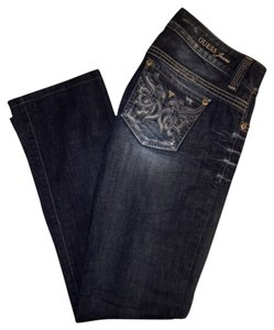 Guess Straight Leg Jeans-Medium Wash