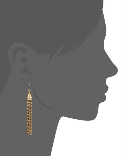 Lucky Brand Lucky Brand Dangle Tassel Earrings
