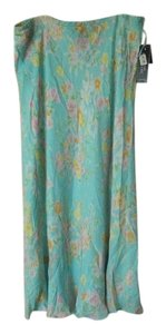 Jones New York Ruffle Soft Maxi Skirt Light Blue, Pastels
