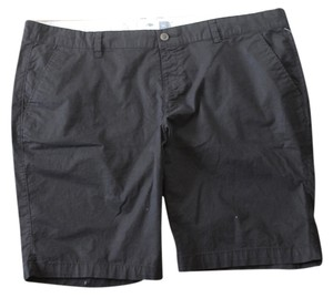 Old Navy Stretch Twill Bermuda Shorts Black