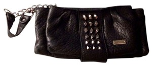 Michele Studded Wristlet in Black