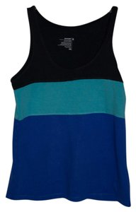 Old Navy T Shirt Black/Blue/Aqua