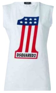 Dsquared2 top XS Top white