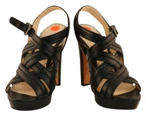 Coach Womens Strappy Black Sandals