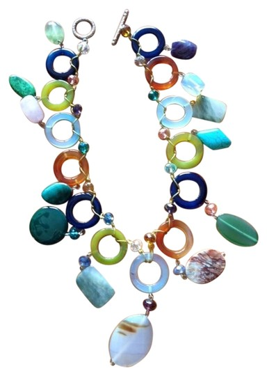 Other statement stone necklace