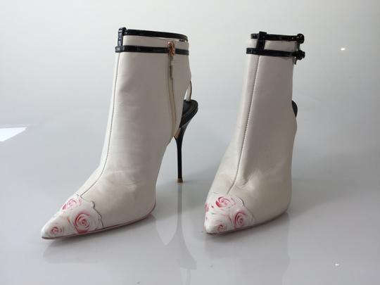 Sophia Webster Gardenia White/black Boots