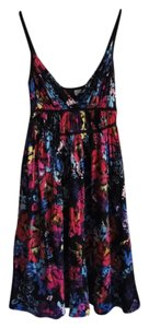 Divided by H&M short dress multi Soft Floral Hummingbirds on Tradesy