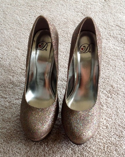 sparkly Glitter Pumps